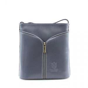 Small Italian Leather Cross Body Bag