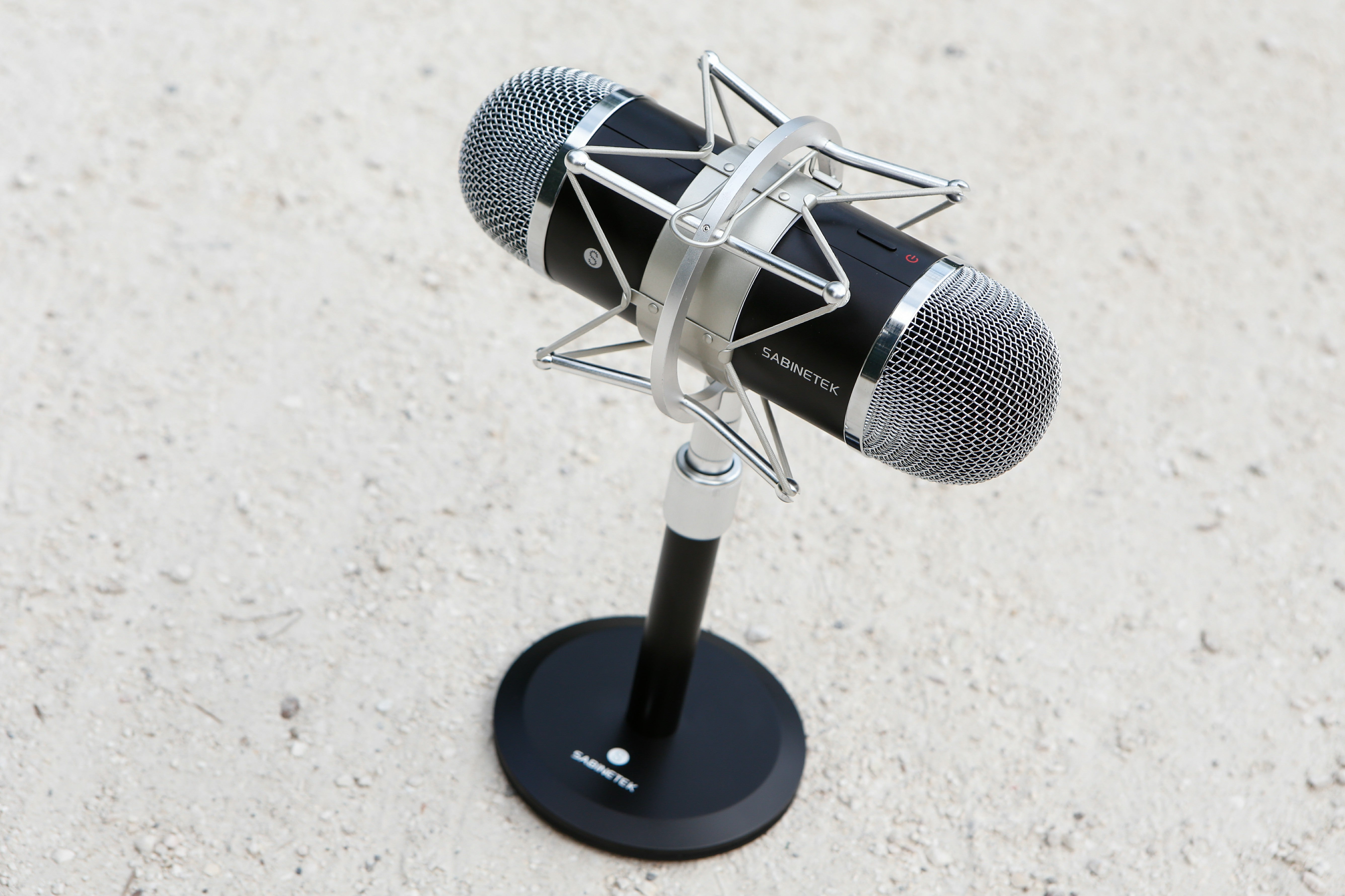 World's First 3D Immersive Panoramic Microphone - SMIC Black