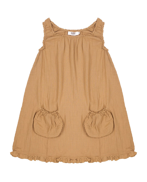 Camel dress SayPlease