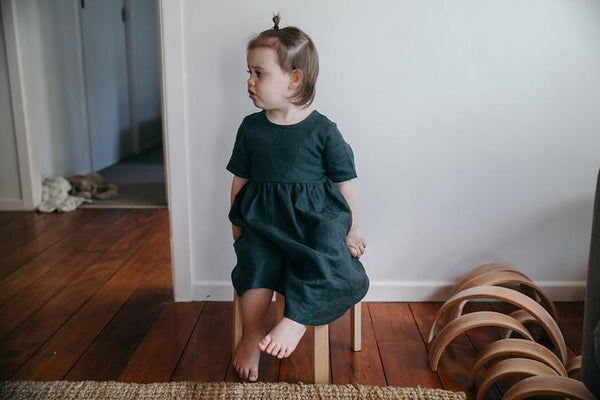 Ayla dress forest Hudson and the Hare