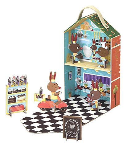 Travel playset Bunny Bakery