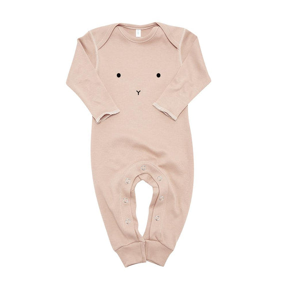 Clay playsuit bunny Organic Zoo