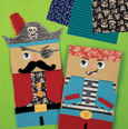 Paperbag craft set pirates Mudpuppy