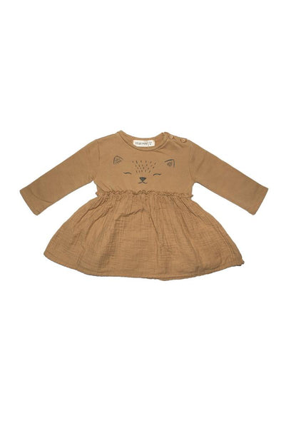 Dress fox ochre Dear Mini