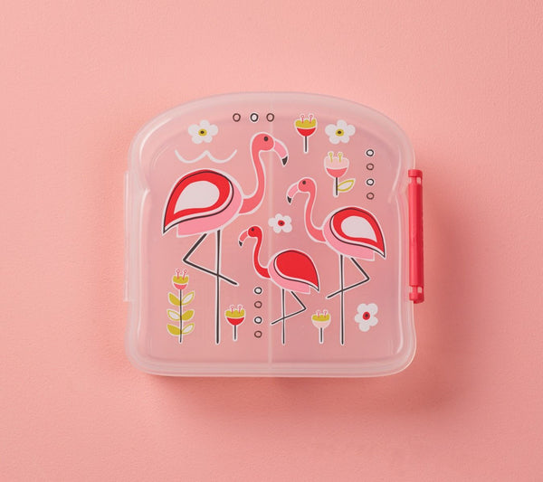 Sandwich box Good lunch Flamingo Sugarbooger