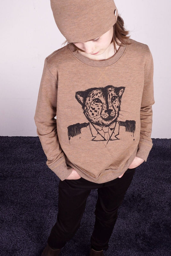 General Leo wood sweatshirt Knast by Krutter