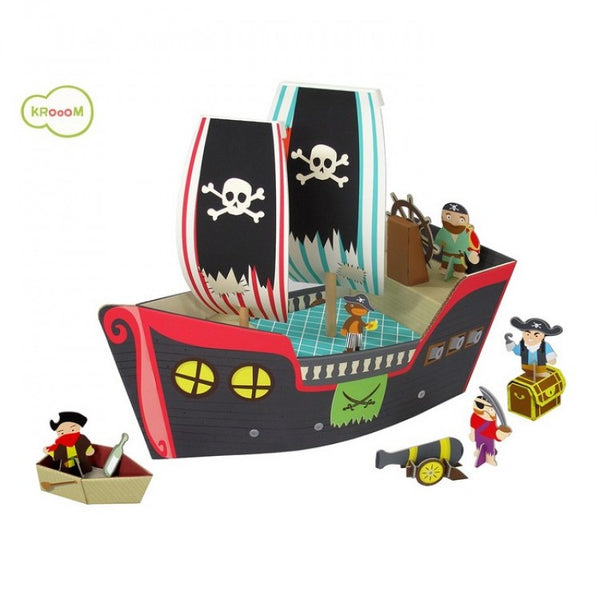 3D piratenschip speelset Krooom
