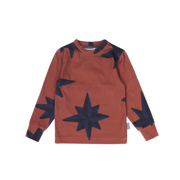 Longsleeve blue compass One Day Parade