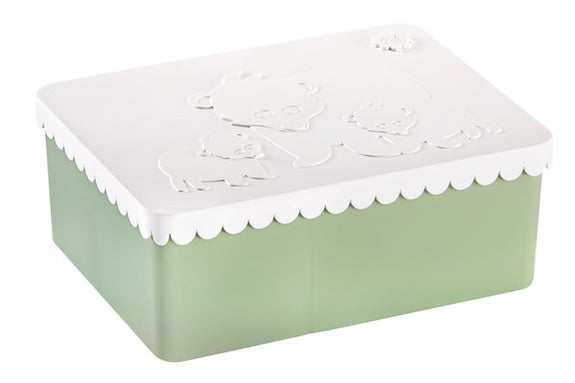 Lunchbox polar white/coast green Blafre