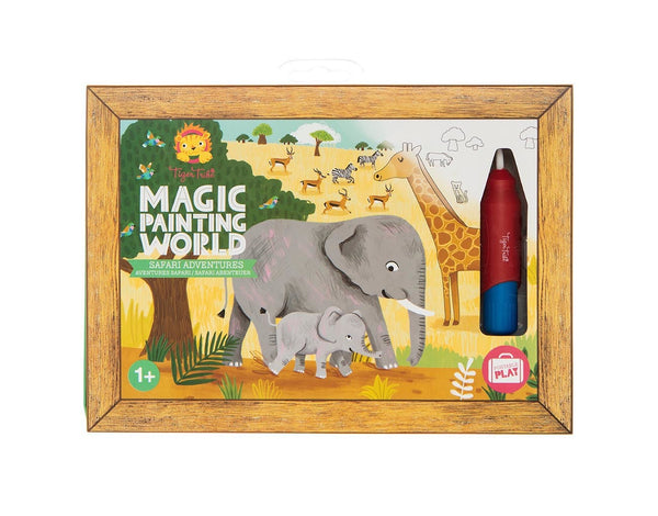 Magic painting set safari adventures Tiger Tribe