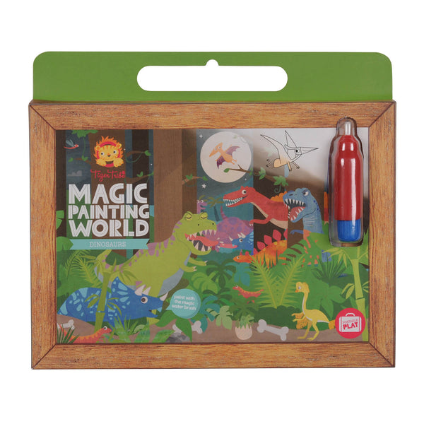 Magic painting set dinosaurs