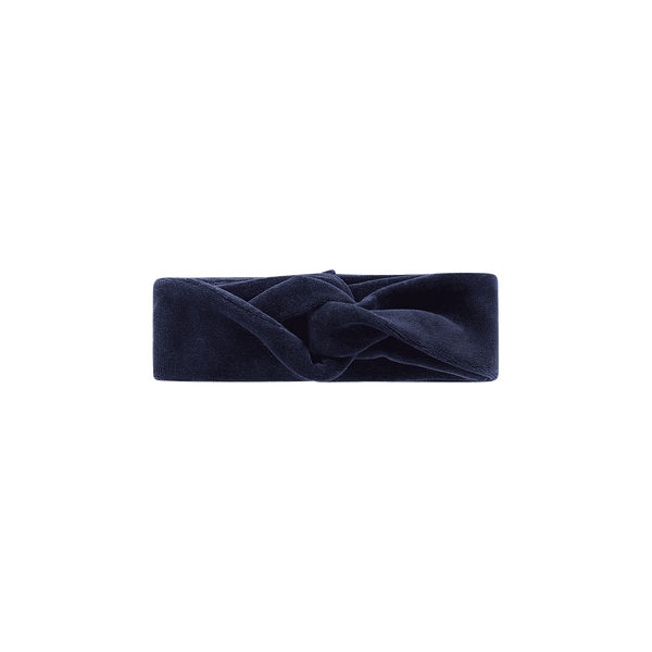Midnight velvet headband House of Jamie