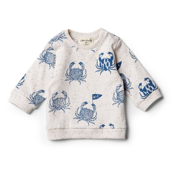 Monsieur crab sweatshirt Wilson & Frenchy