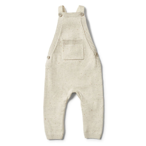 Olive speckle knitted overall Wilson & Frenchy