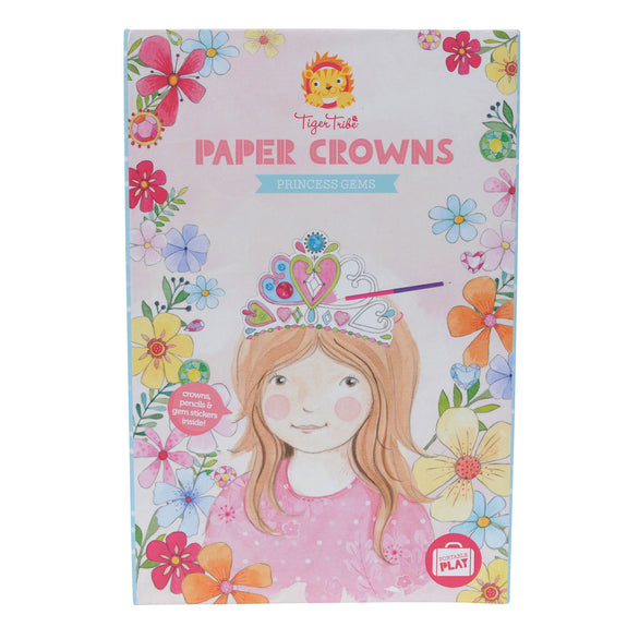 Paper crowns princess gems Tiger Tribe