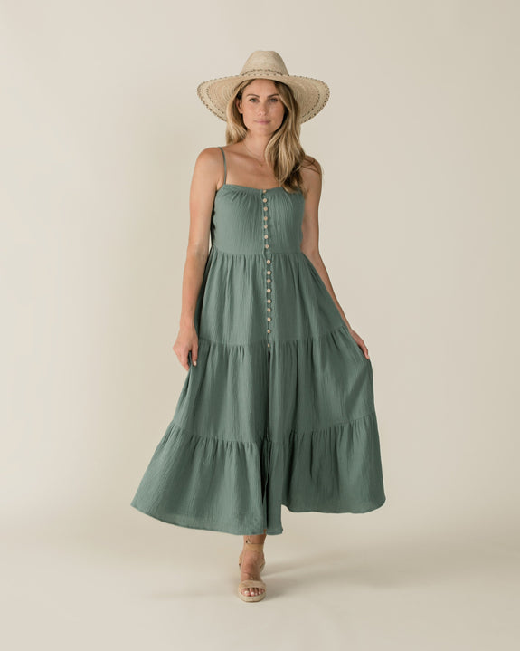 Maxi dress rainforest mama Rylee & Cru