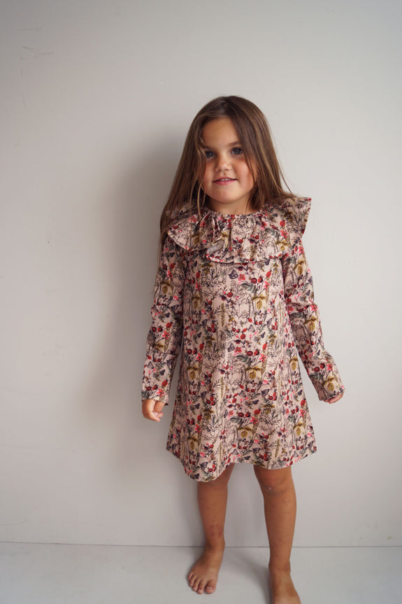 Rose flower dress Knast by Krutter