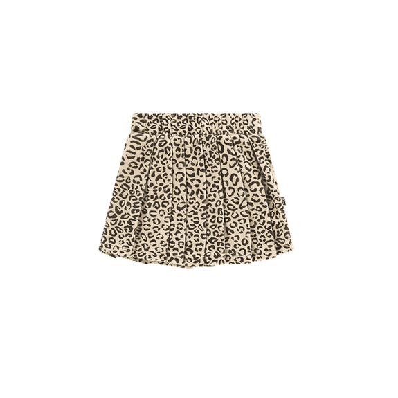 Snow leopard pleated skirt House of Jamie