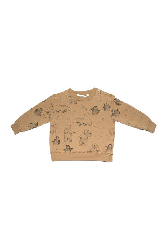Sweatshirt artic ochre Dear Mini