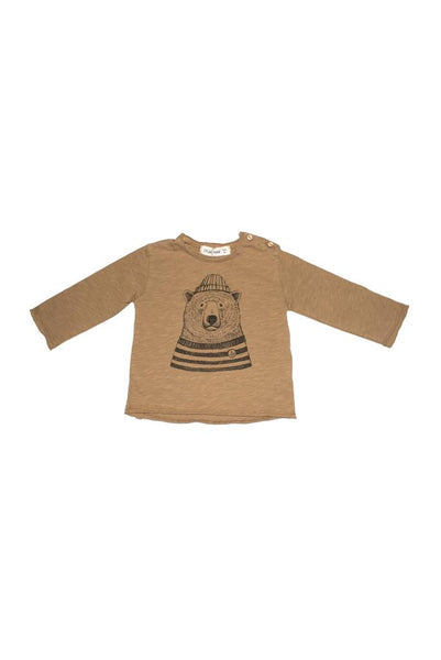 Polar bear longsleeve shirt Dear Mini