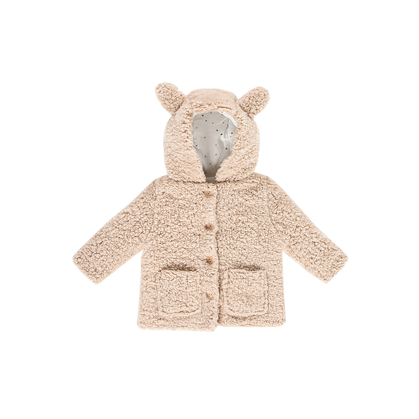 Teddie hooded jacket fox House of Jamie