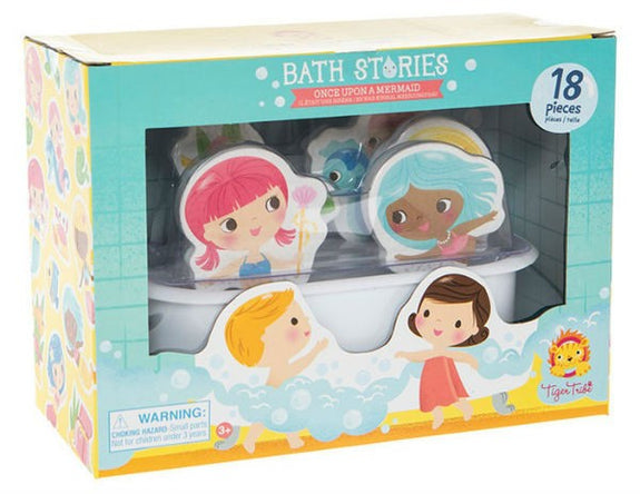 Bathtime stories once upon a mermaid Tiger Tribe