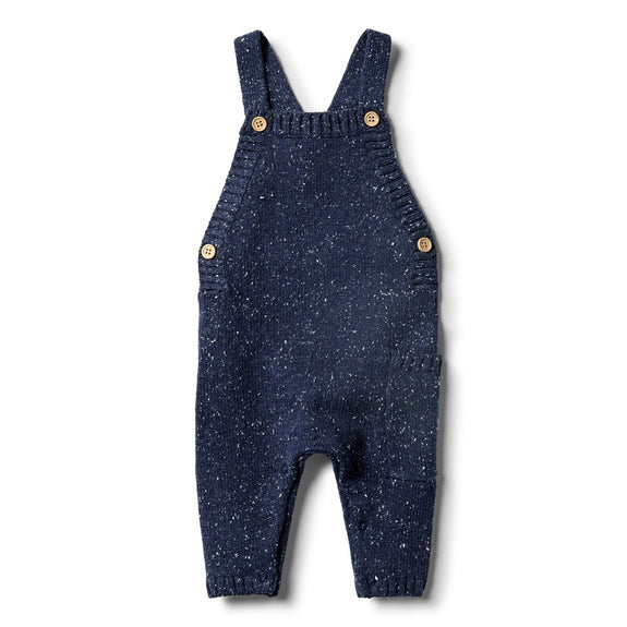 Twilight blue knitted overall Wilson & Frechy