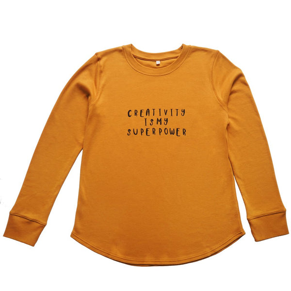 Sweatshirt creativity mama Organic Zoo