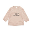 Sweatshirt kindness clay Organic Zoo