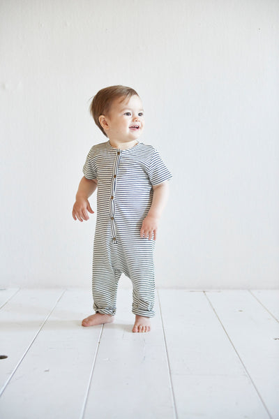 Laidback jumpsuit little stripes House of Jamie