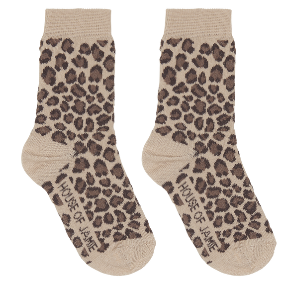 Leopard socks House of Jamie