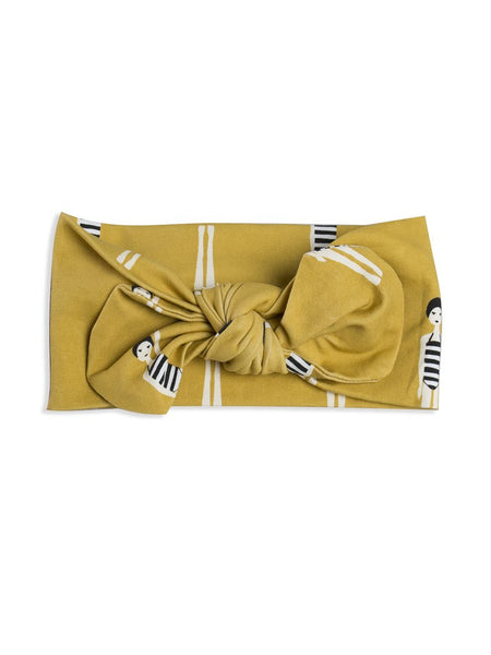 Bather girl bow headband Mad About Mini