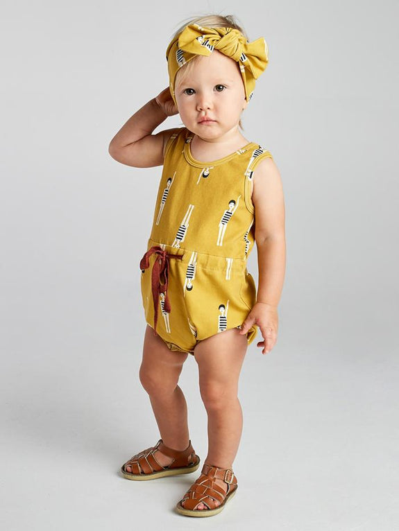 Bather girl romper Mad About Mini