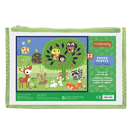 Pouch puzzle forest friends Mudpuppy