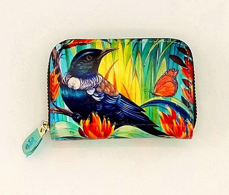 Tui In Flax Card Holder