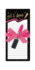 Get it Done - Magnetic List Pad with Pen