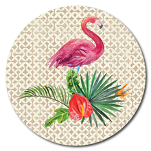 Load image into Gallery viewer, Printed ACM Circle: Flamingo