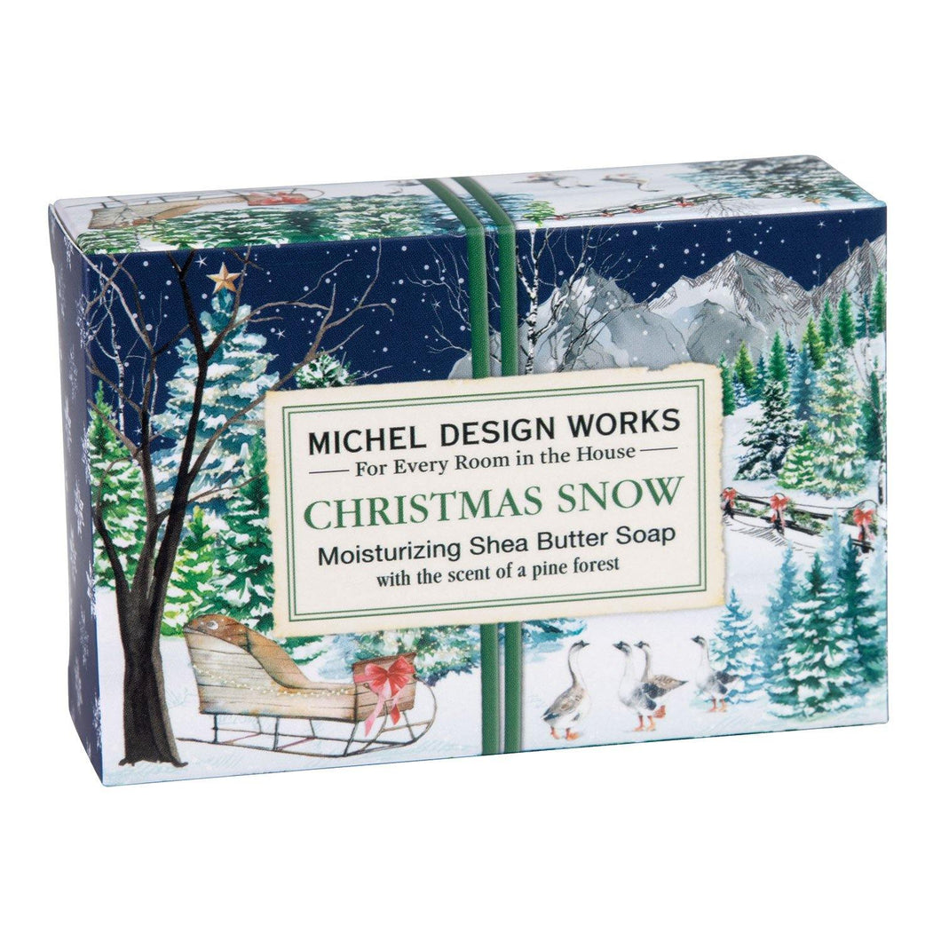 Michel Design Works Christmas Snow Boxed Soap