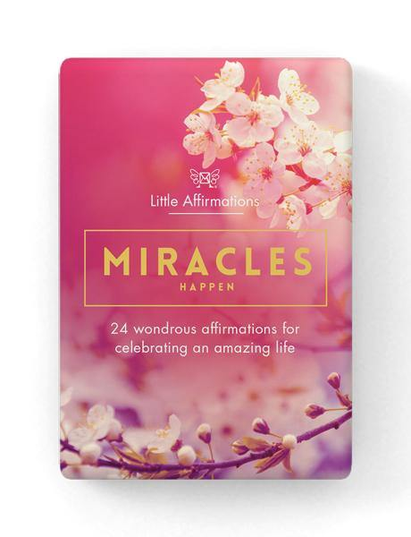 Inspirational Box: Miracles Happen