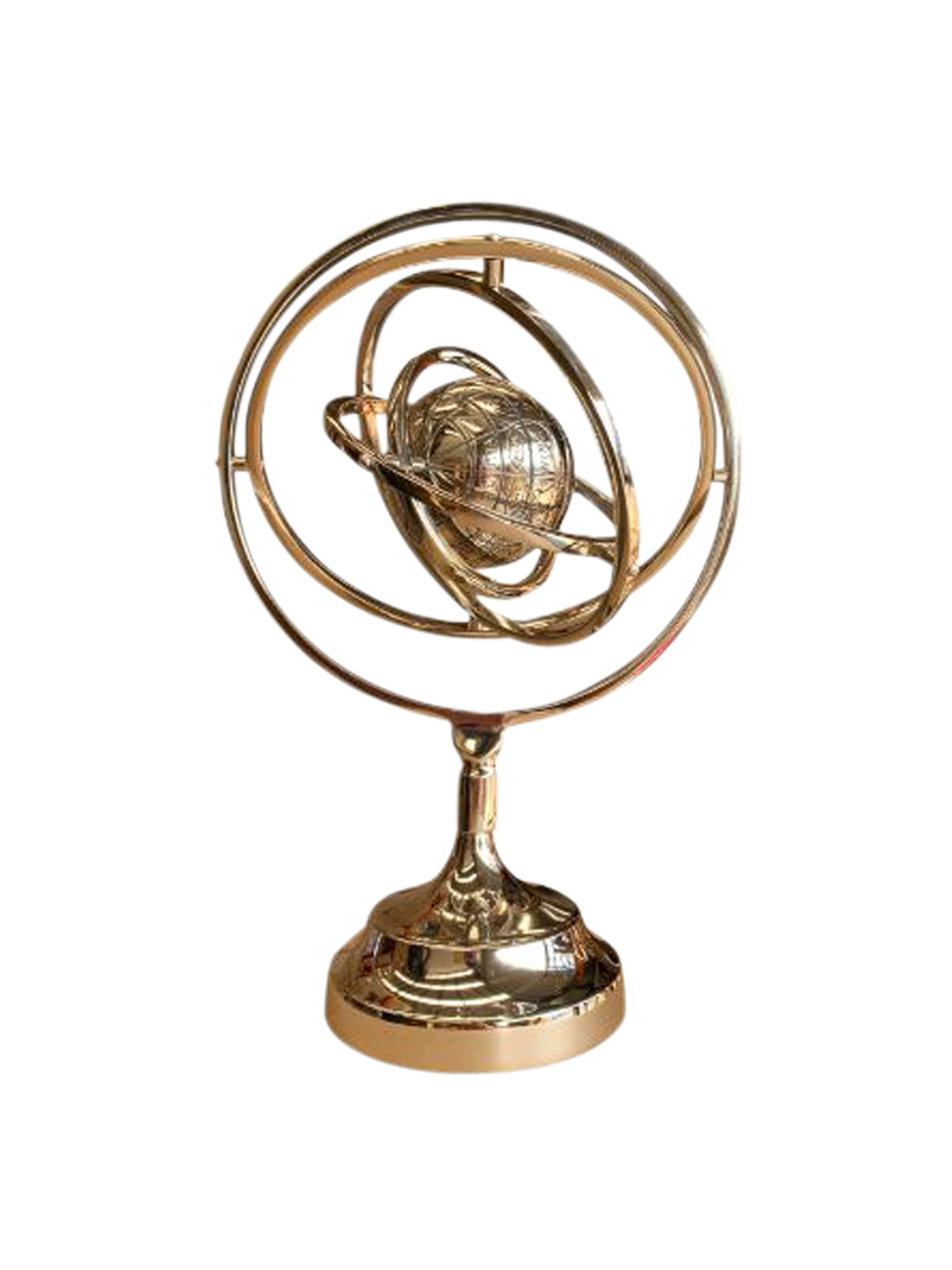 Armillary With Globe - Tigerlily Gift Store