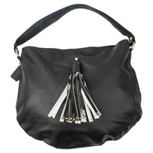 Load image into Gallery viewer, Black Leather Ladies Bag