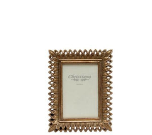 Gold Leaf Photo Frame