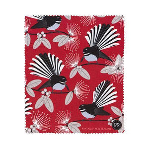 Glasses Cloth Flirting Fantails Red