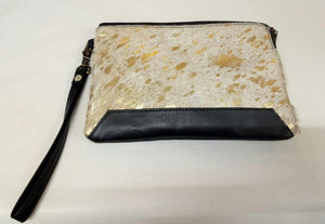 Cowhide: Small Clutch