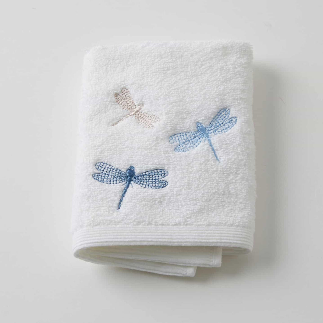Dragonfly Face Cloth