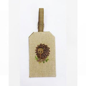 Luggage Tag: Kiwi On Linen
