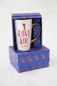 Mug Latte Boxed Love You Latte
