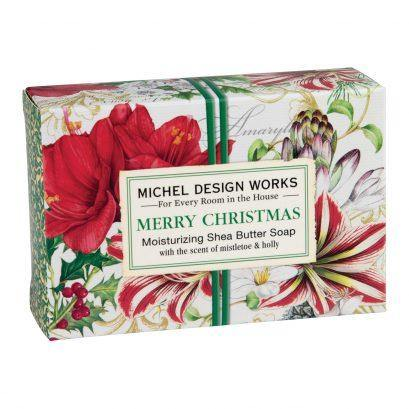 Michel Design Works Merry Christmas Boxed Soap