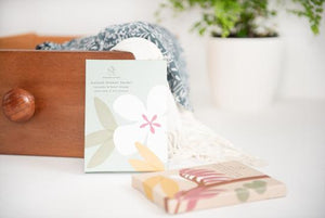 Native NZ design - Draw Sachet - Lavender and Sweet Orange.