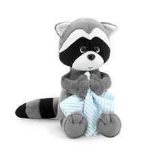 Denny The Racoon With Towel Toy - Tigerlily Gift Store
